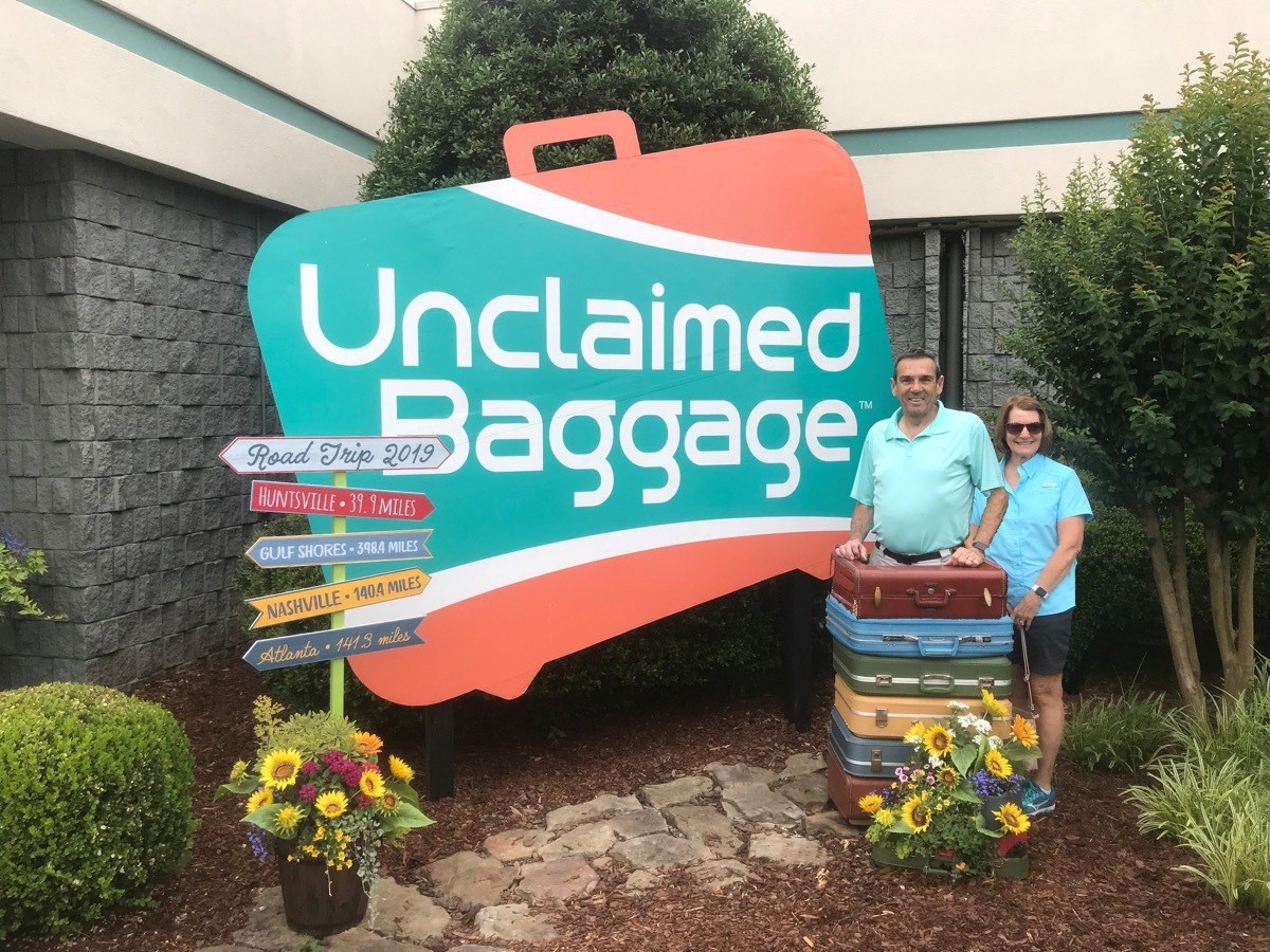 T M Unclaimed luggage